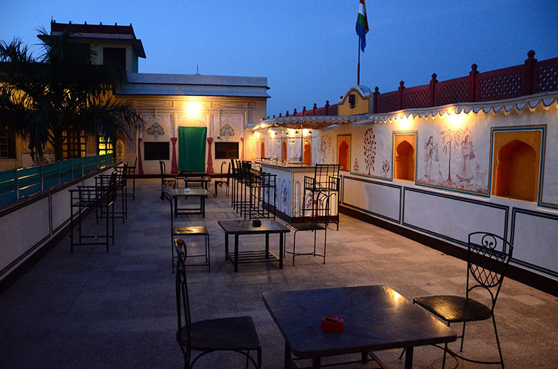 Hotel Burja Haveli, Alwar, Rajasthan - Bar