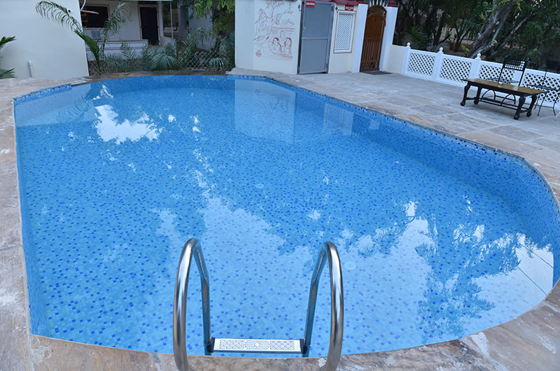 Hotel Burja Haveli, Alwar, Rajasthan - Swimming Pool